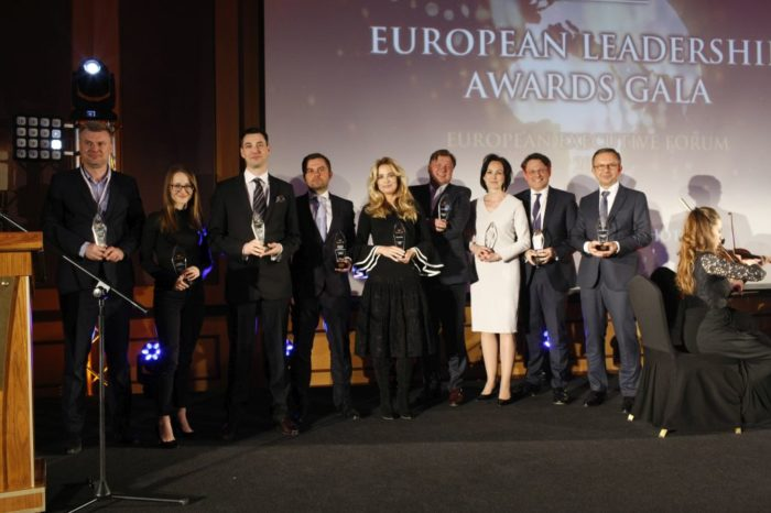 """Firma Canon została uhonorowana tytułem """"Technology Leader"""" podczas European Executive Forum 2018 - organizowanym przez Executive Club."""