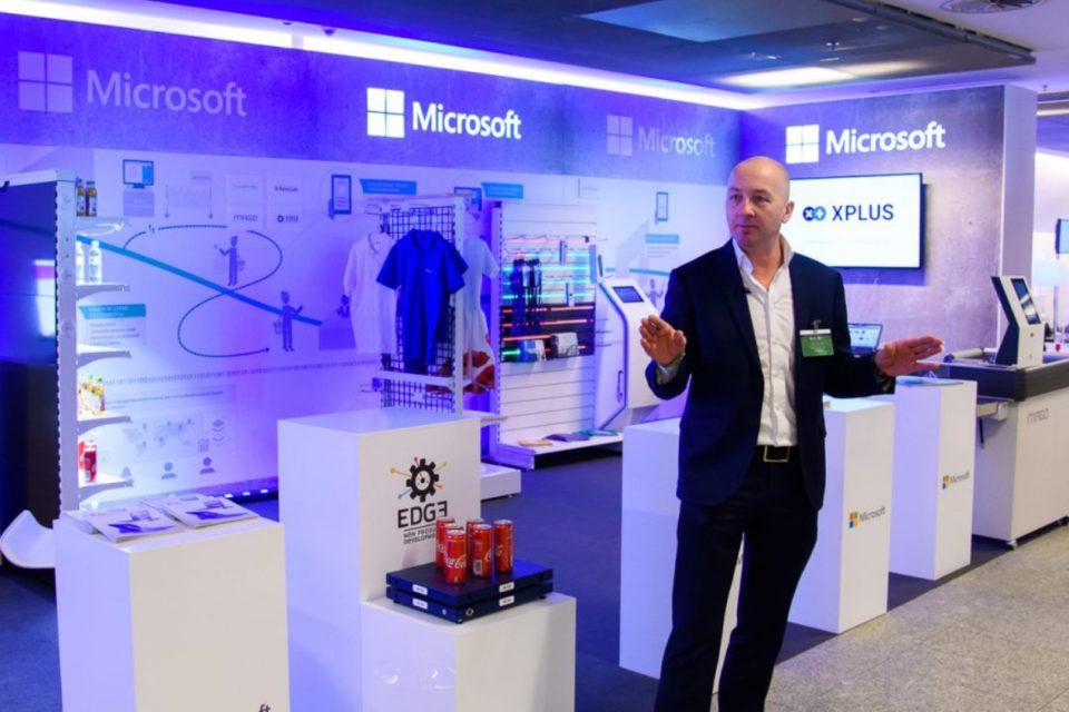 """Microsoft zaprezentował przełomowe rozwiązania dla sektora handlu detalicznego - wspólnie z partnerami zbudowano koncept """"Store of the Future"""""""
