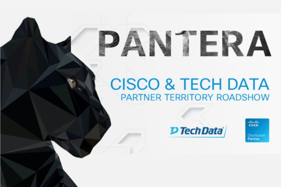 PANTERA - Cisco&Tech Data Partner Territory Roadshow - Cykl spotkań z Partnerami mający na celu wymianę wiedzy, doświadczeń oraz pomysłów na rozwój wspólnych inicjatyw.