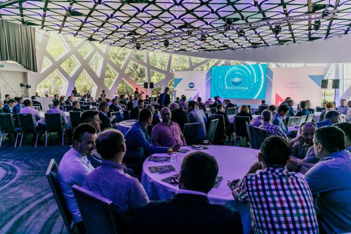 """Transformacja cyfrowa to dzisiaj być albo nie być! – głównym wnioskiem konferencji Instytutu Innowacji """"Transformacja cyfrowa a rola nowoczesnego CIO w organizacji"""", zorganizowanej przez Konica Minolta."""