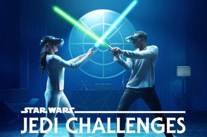 Lenovo™ i Disney wprowadzają tryb multiplayer w zestawie rozszerzonej rzeczywistości Star Wars™: Jedi Challenges - pojedynki na miecze świetlne pomiędzy dwoma graczami.