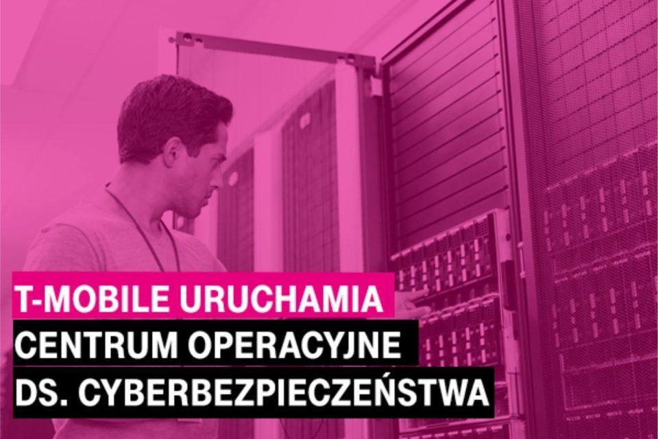 T‑Mobile Polska uruchamia Centrum Operacyjne ds. Cyberbezpieczeństwa oraz rozszerza ofertę ochrony zasobów IT dla firm, również w zakresie regulacji RODO czy NIS.