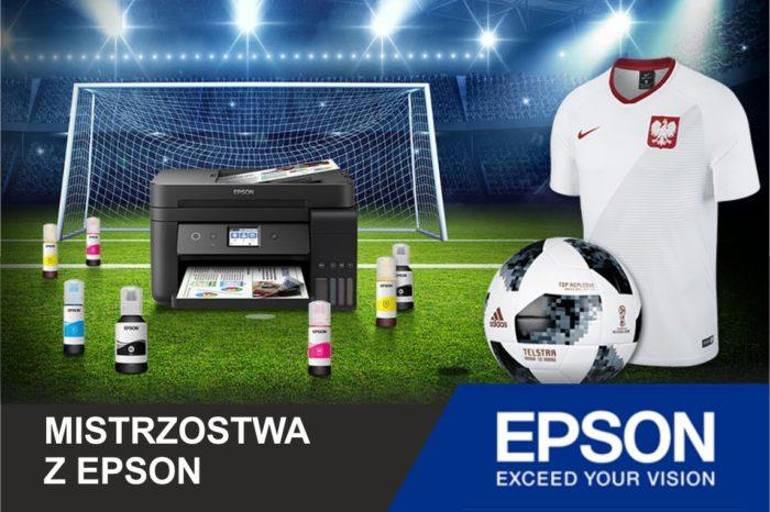 Piłka Nożna, mistrzostwa i drukarki, czyli Mundial z EPSON – Japoński producent przygotował nie lada gratkę dla fanów piłki nożnej, którzy w najbliższym czasie rozważają zakup drukarki!