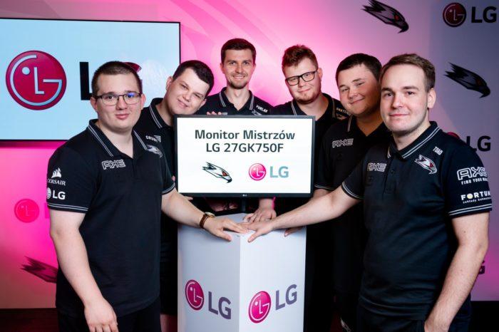 W DRODZE PO MISTRZOSTWO POLSKI ! - Partnerstwo Technologiczne LG Electronics z AGO Esports, aktualnymi mistrzami Polski w CS:GO.