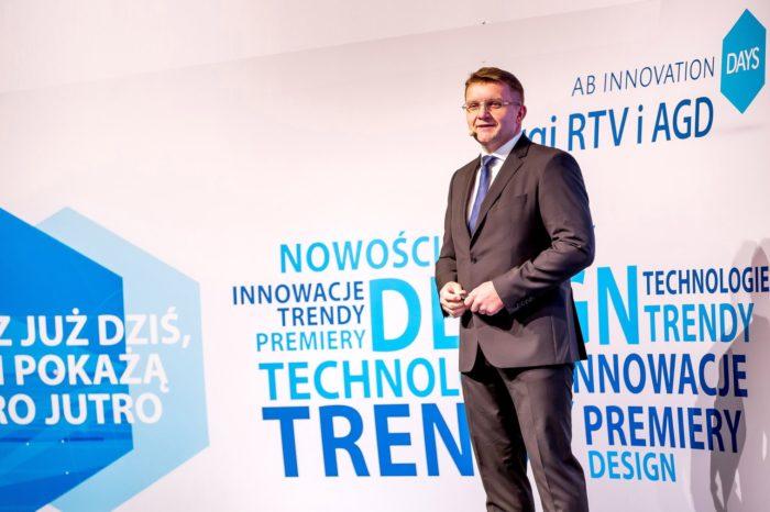 AB Innovation Days 2018 - za nami V edycja największych i najważniejszych targów RTV/AGD w branży dystrybucyjnej zorganizowanych przez AB S.A.