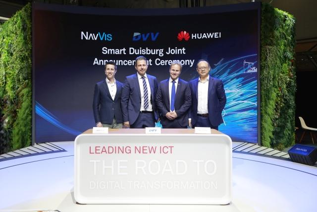 Huawei i DU-IT GmbH, miejska spółka zależna Duisburger Versorgungs- und Verkehrsgesellschaft mbH (DVV) zbudują Smart City w Niemczech