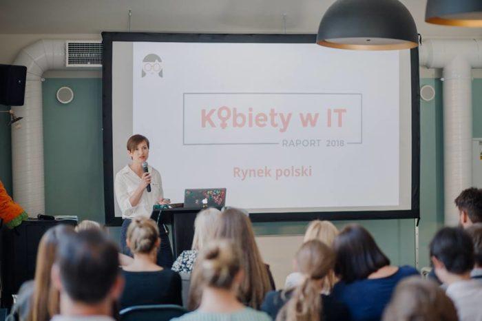 Komputronik Biznes wspiera kobiety w IT - wspierając Fundację Carrots podczas premiery Raportu Kobiety w IT.