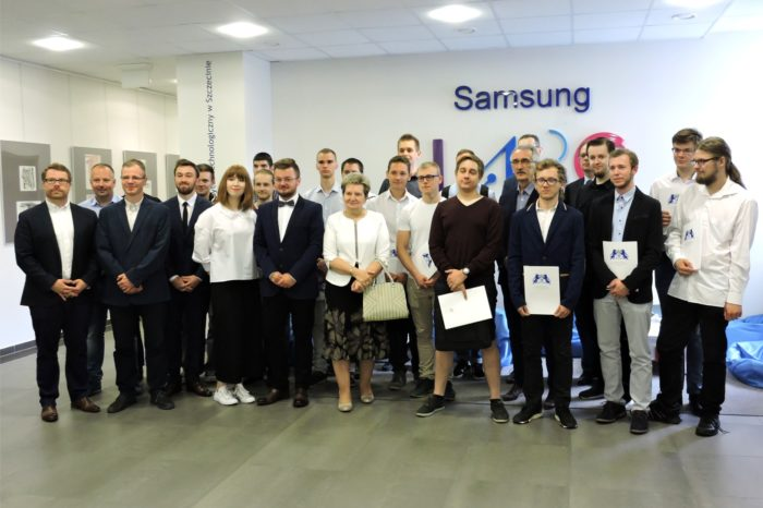 Poznaliśmy laureatów IVedycji programu dla studentów Samsung LABO, realizowanego na Zachodniopomorskim Uniwersytecie Technologicznym.