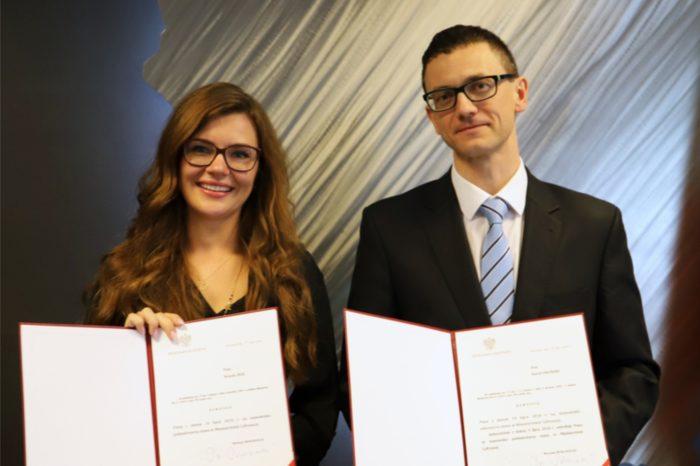 Ministerstwo Cyfryzacji - Nowym sekretarzem stanu w Ministerstwie Cyfryzacji został Karol Okoński, a Wanda Buk - dotychczasowa dyrektor Centrum Projektów Polska Cyfrowa - podsekretarzem stanu.