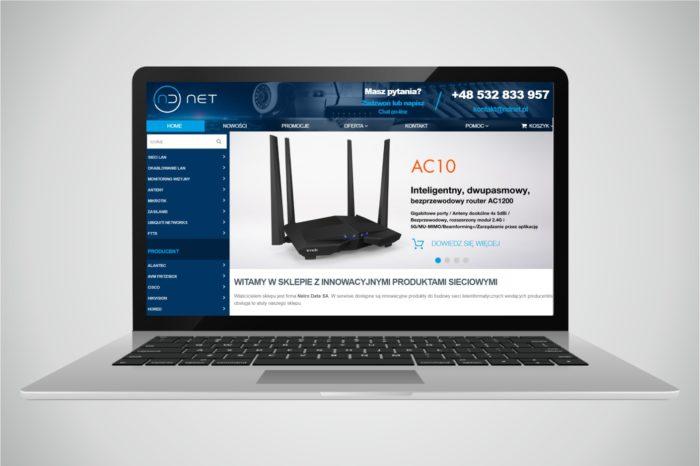 Nelro Data uruchamia sklep internetowy NDNet.pl dla rynku ISP - platforma dedykowana do budowy nowoczesnej i wydajnej infrastruktury teleinformatycznej.