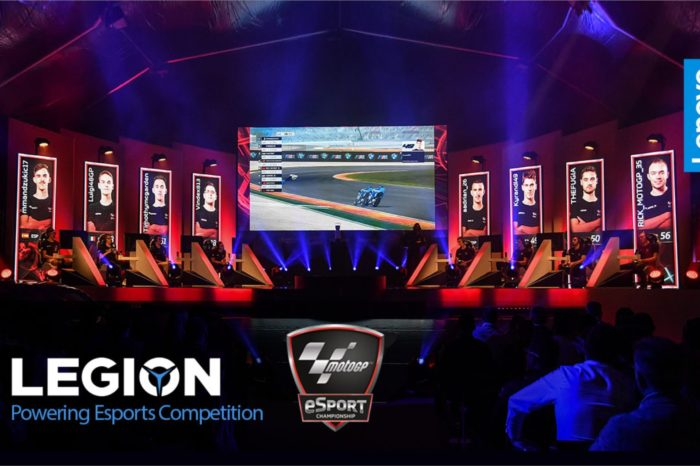 Lenovo Legion™ wyłącznym partnerem technologicznym mistrzostw MotoGP™ eSport Championship  - najpopularniejszych wyścigów motocyklowych.
