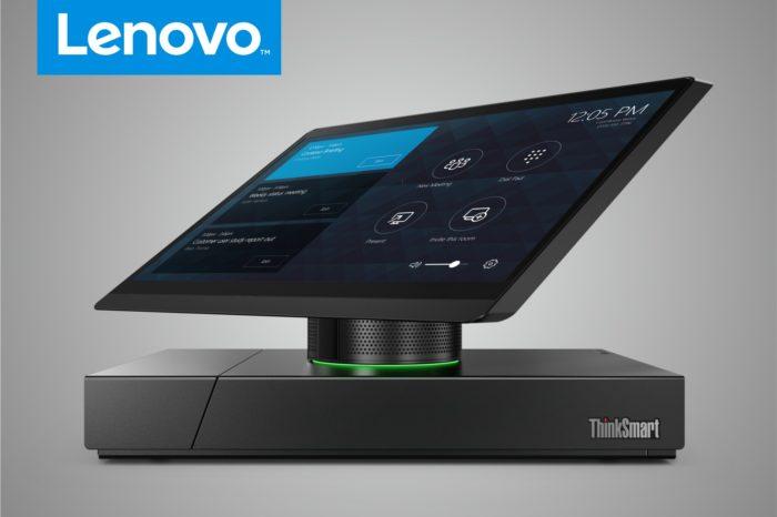 Lenovo ThinkSmart Hub 500 — nowa jakość w dziedzinie telekonferencji. Najnowsze urządzenie Lenovo ułatwiające prowadzenie telekonferencji.