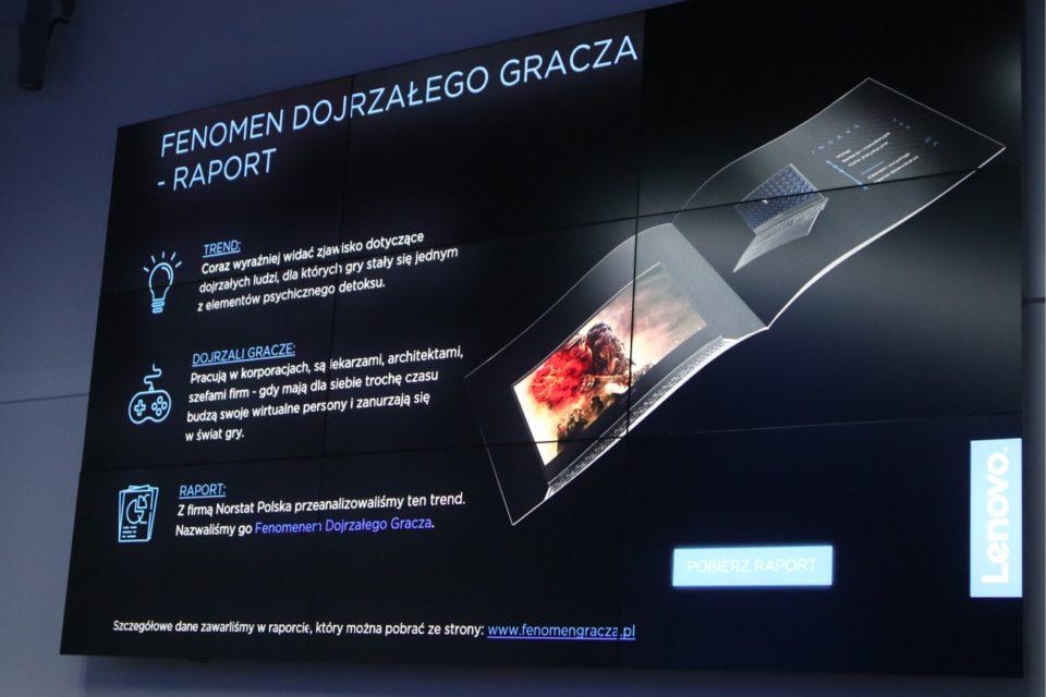 Lenovo potwierdza zmiany na rynku gamingowym - Dojrzały gracz w centrum uwagi producentów, aż 46 % graczy ma więcej niż 36 lat!