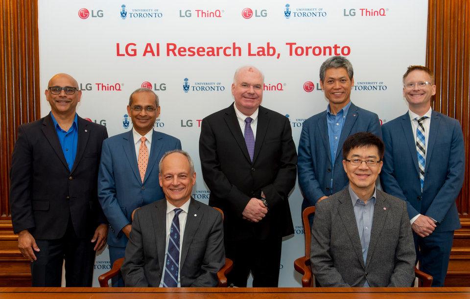 LG Electronics we współpracy z czołowymi ośrodkami akademickimi oraz startupami otwiera nowe laboratoria badań nad sztuczną inteligencją.