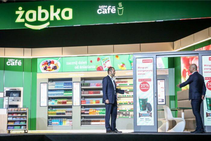 """""""Żabka - Sklep jutra"""" - Dzięki kompleksowemu ekosystemowi Partnerów Microsoft w Polsce i na świecie, zaprezentowano wizję transformacji sieci handlowej Żabka."""