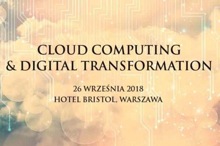 """Digitalizacja i technologia chmury bez tajemnic! - Executive Club zaprasza na debatę """"Cloud Computing & Digital Transformation"""", która odbędzie się 26 września  2018 r. w hotelu Bristol w Warszawie."""