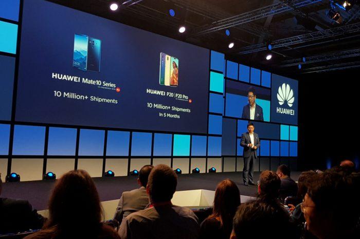 Podczas targów IFA 2018 w Berlinie, Richard Yu potwierdził że Huawei w ciągu 5 miesięcy od premiery, sprzedaż smartfonów Huawei P20 Pro i P20 przekroczyła 10 milionów sztuk.