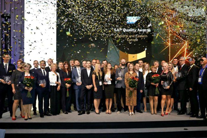 Polskie firmy wśród laureatów SAP Quality Awards w Europie Środkowo-Wschodniej - Pięć firm z Polski z nagrodami dla czołowych transformacji cyfrowych.