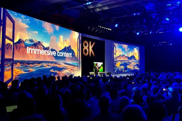 Samsung podczas IFA 2018 w Berlinie zaprezentował prawdziwą rewolucję 8K - Premiera rewolucyjnego telewizora Samsung Q900R QLED 8K z technologią sztucznej inteligencji.
