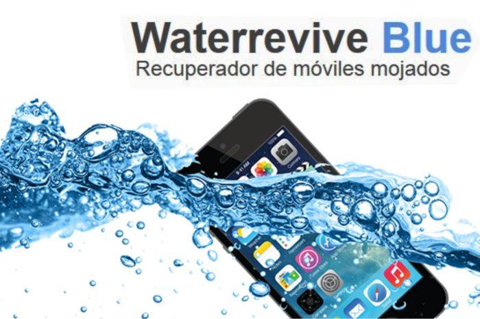 Jak uratować zalany telefon? – Do oferty AB S.A., trafił Waterrevive Blue - produkt, która usuwa korozję i eliminuje wilgoć z wnętrza telefonu zniszczonego wodą.