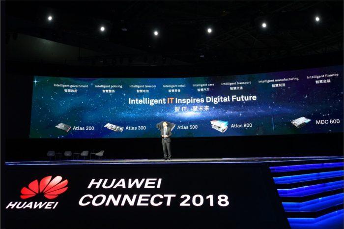 """HUAWEI CONNECT SHANGHAI 2018 """"Activate Intelligence"""" – Huawei uruchamia Atlas Intelligent Computing Platform, aby zapewnić najwyższą moc obliczeniową AI przyszłości!"""
