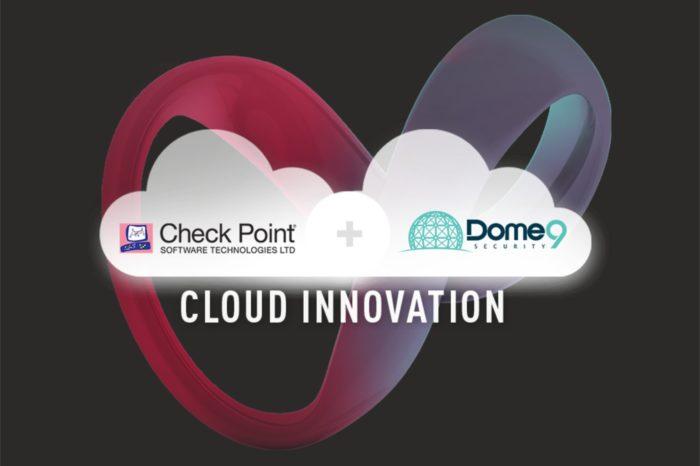 Check Point Software Technologies przejmuje firmę Dome9 -Transakcja ma wzmocnić pozycję Check Point jako globalnego lidera zabezpieczeń opartych na chmurze.