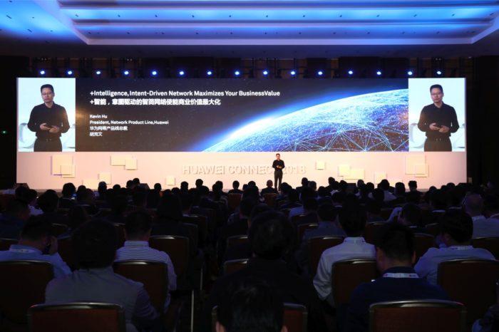 """HUAWEI CONNECT SHANGHAI 2018 """"Activate Intelligence"""" –  Huawei zaprezentował nową odsłonę rozwiązań sieciowych Intent-Driven Network (IDN) dla przemysłu."""