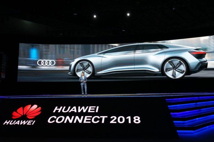 """HUAWEI CONNECT SHANGHAI 2018 """"Activate Intelligence"""" – Huawei chce przyśpieszyć rozwój samochodów autonomicznych i prezentuje efekty współpracy z marką AUDI."""