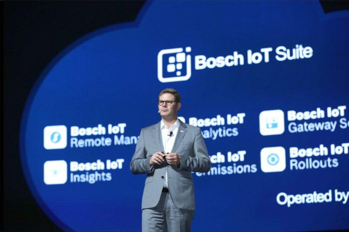 """HUAWEI CONNECT SHANGHAI 2018 """"Activate Intelligence"""" – Huawei ogłosił partnerstwo z Bosch Software Innovations w celu przyspieszenie rozwoju Internetu rzeczy (Internet of Things)."""