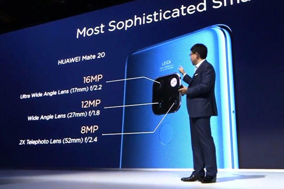 Huawei podczas światowej premiery w Londynie, zaprezentował najpotężniejszy smartfon w historii firmy – Huawei Mate 20 Pro.