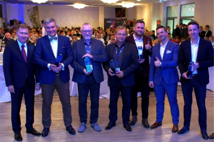 NEC podczas spotkania dla swoich partnerów biznesowych NEC Competence Days Pro AV Solutions uhonorował najlepszych, nagrodami NEC Awards 2018.