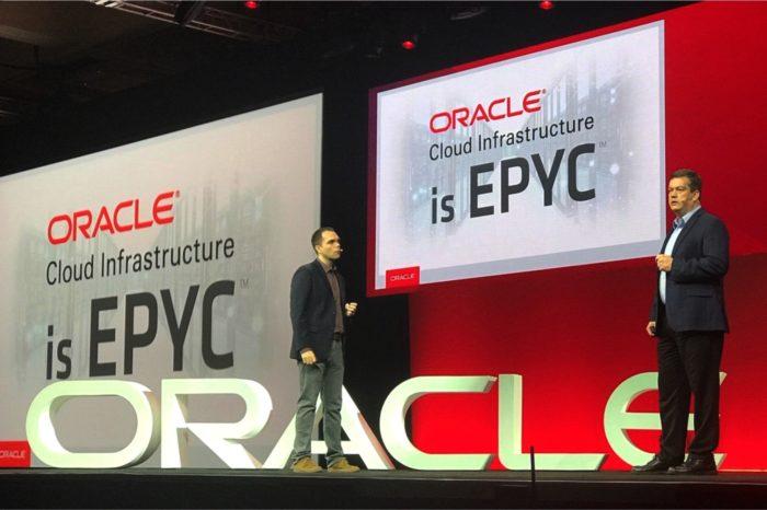 Oracle OpernWorld 2018 - Pierwsza instancja Oracle Cloud Infrastructure na bazie procesorów AMD EPYC™ - najlepszy w swojej klasie stosunek ceny do wydajności.