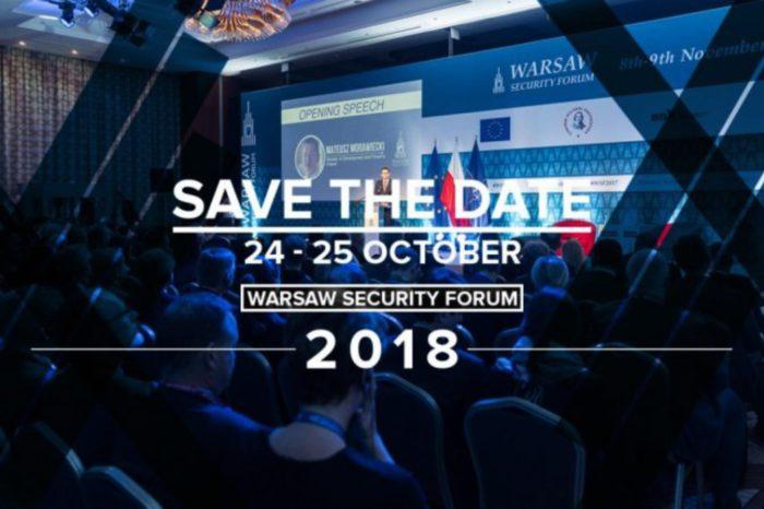 Warsaw Security Forum 2018 – przedstawiciele NATO i departamentów obrony z całej Europy będą rozmawiać o bezpieczeństwie międzynarodowym.