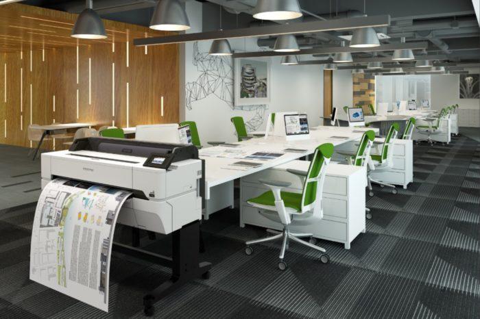 Epson oferuje nowe drukarki LFP - Dla profesjonalistów wymagających precyzji i niezawodności o niskim całkowitym koszcie posiadania.