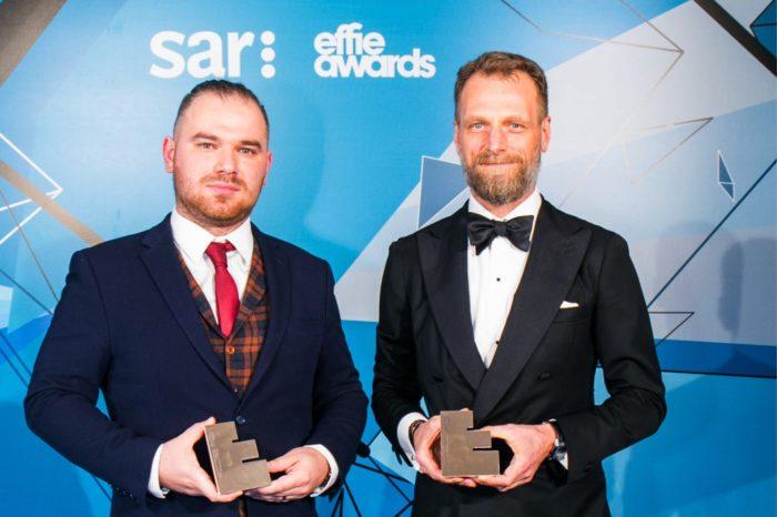 """Nanovo wraz z eobuwie.pl otrzymało prestiżową nagrodę Effie Awards w kategorii marketing&business solutions za """"sprzedaż online w sklepie offline""""."""