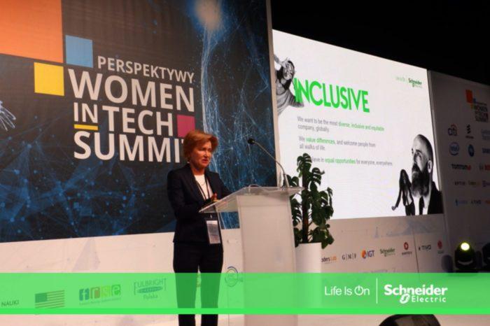 """Perspektywy Women in Tech Summit – pierwsze tego typu wydarzenie w Europie Środkowo-Wschodniej oraz Azji Środkowej pod hasłem """"Bądź zmianą, którą chcesz zobaczyć w branży technologii""""."""