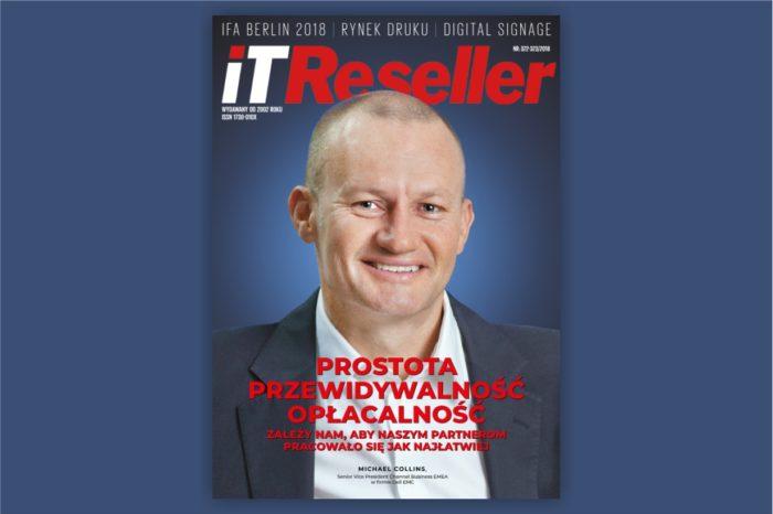 "Magazyn IT RESELLER nr. 322-323. Temat numeru: ""IFA Berlin 2018, Rynek Druku, Digital Signage"""