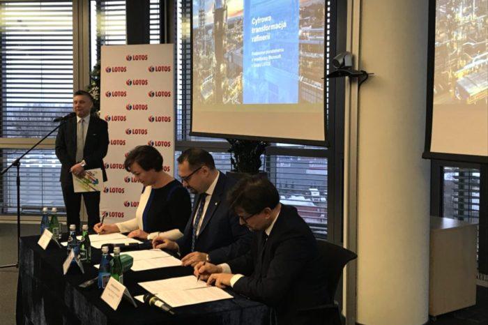 Grupa LOTOS i Microsoft podpisały porozumienie - celem wspólnych projektów i wdrożeń rozwiązań z wykorzystaniem sztucznej inteligencji oraz najnowszych technologii informatycznych.