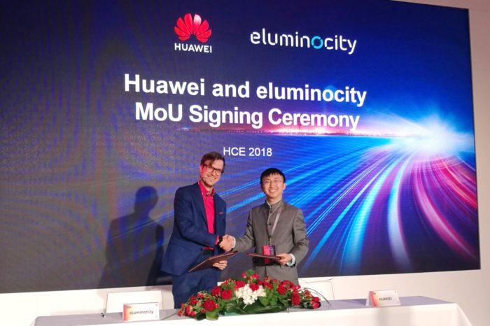 Huawei i eluminocity podpisały porozumienie o współpracy w zakresie rozwiązań Smart City stworzą w Europie centrum rozwiązań Smart City w Munich OpenLab Huawei.