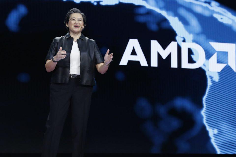 Moc następnej generacji sprzętu komputerowego zaprezentowana na CES 2019 przez Lisę Su, prezesa i dyrektor generalną firmy AMD.