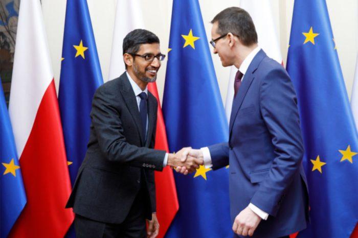 Europa środkowo-wschodnia to najszybciej rozwijający się region Unii Europejskiej - Szef polskiego rządu spotkał się z prezesem firmy Google.
