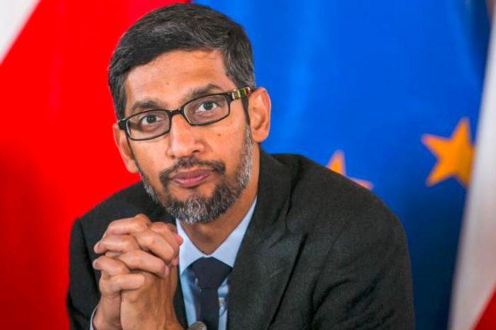 Sundar Pichai, CEO Google, chce aby rząd regulował działania w zakresie sztucznej inteligencji.
