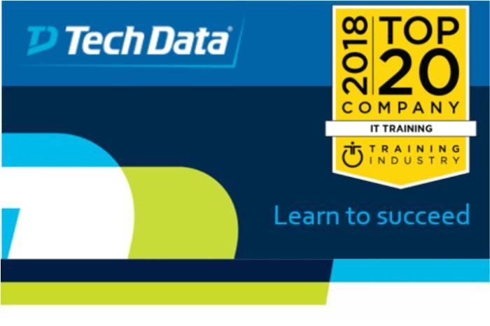 Tech Data siódmy rok z rzędu wśród 20 najlepszych firm szkoleniowych IT - Wyróżnienie uznaje światowej klasy ofertę edukacyjną i szkoleniową firmy.