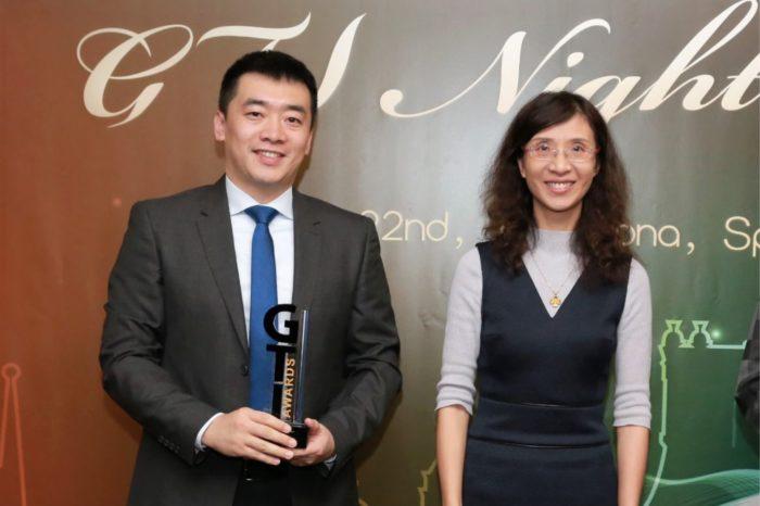 """Huawei podczas ceremonii wręczenia nagród Global TD-LTE Initiative (GTE) zdobywa nagrodę GTI """"Market Development Award"""" za wybitne osiągnięcia w komercjalizacji technologii 5G."""
