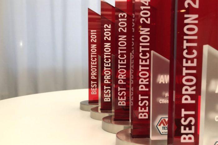 """F-Secure z dwiema nagrodami """"Best Protection"""" przyznanymi przez niezależny instytut AV-TEST za 2018 rok - Wyróżniono nimi F-Secure SAFE oraz PSB (Protection Service for Business)."""