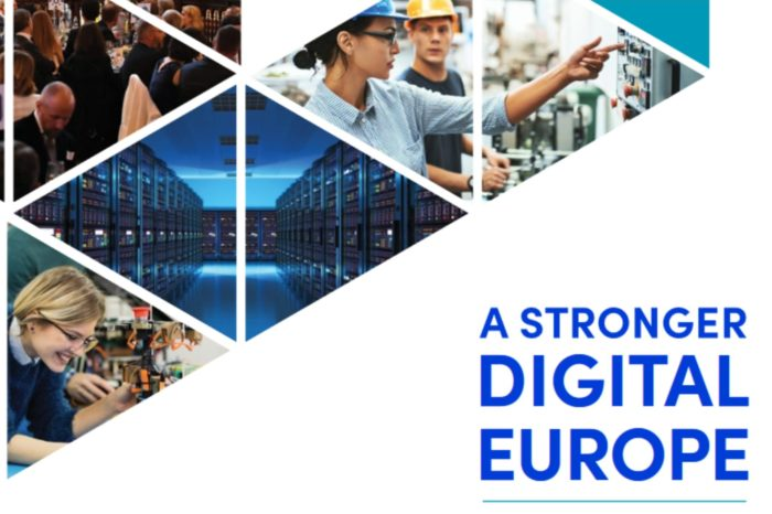 """Europejska branża cyfrowa - Digital Europe, przedstawia wspólny manifest na wizję cyfrowej Europy, zatytułowany """"Silniejsza cyfrowa Europa 2025"""""""