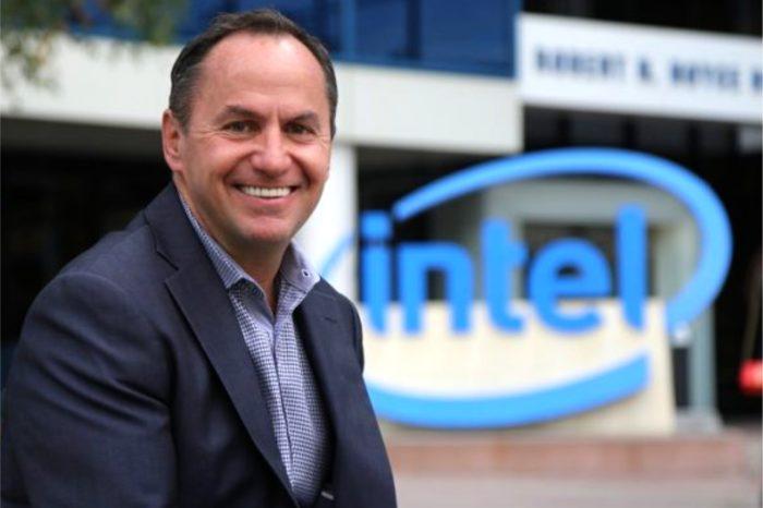 Robert Swan, tymczasowy CEO Intel - oficjalnie mianowany na stanowisko dyrektora wykonawczego firmy Intel Corporation.