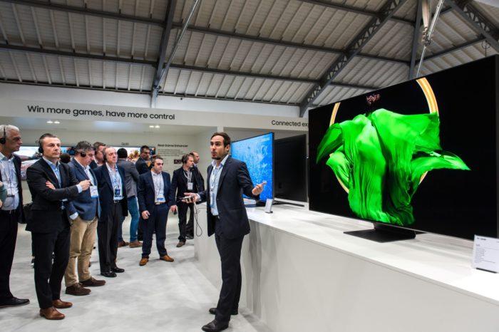 Samsung podczas Samsung European Forum w Portugalii, zaprezentował premierowe rozwiązania z najnowszego portfolio telewizorów QLED na 2019 rok.