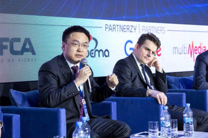 """""""Sieć 5G może się pojawić w pierwszych polskich miastach już w 2020 roku!"""" - prognozuje Tonny Bao, Dyrektor Zarządzający Huawei Polska, podczas 11 edycji Forum Gospodarczego TIME."""