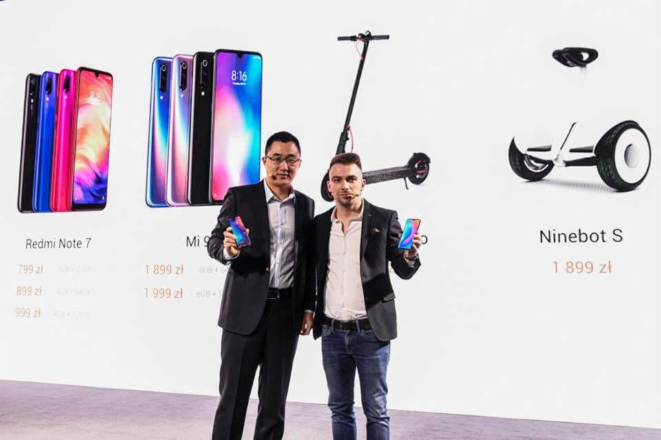 Xiaomi zaprezentowało ceny swoich nowych produktów w Polsce - Xiaomi Mi 9 w cenie od 1899 zł, Redmi Note 7 od 799 zł, konkurencja ma się czego obawiać!